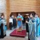Всенощное бдение на Лукинском архиерейском подворье г.Саранска