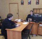 Рабочее совещаниев отделе МВД РМ «Ардатовский» по проведению пасхальных богослужений
