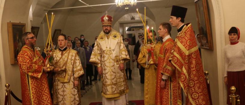 Воскресение Господа нашего Иисуса Христа в Никольском кафедральном соборе г.Ардатова