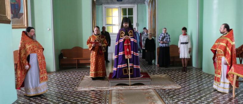 Суббота Светлой Седмицы на Казанском архиерейском подворье с.Маколово Чамзинского района