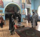 Великая Среда Страстной Седмицы на Никольском архиерейском подворье п.Атяшево