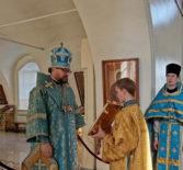 Суббота 5-й седмицы Великого поста, «Похвала Пресвятой Богородицы» в Никольском кафедральном соборе г.Ардатова
