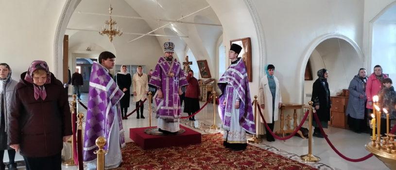Неделя 5-я Великого поста в Никольском кафедральном соборе г.Ардатова