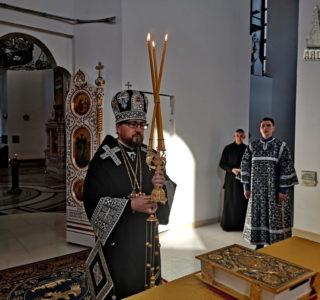 Литургия Преждеосвященных Даров в Андреевском храме п.Атяшево