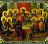Великий Четверток Страстной Седмицы (Тайная Вечеря) в Никольском кафедральном соборе г.Ардатова