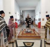 Архипастырь совершил Божественную литургию Преждеосвященных Даров в Андреевском храме п.Атяшево