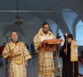 Всенощное бдение с чтением акафиста святителю Николаю Чудотворцу в Никольском кафедральном соборе г.Ардатова