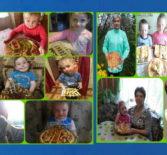 Юная паства Большеигнатовского благочиния приняла участие в онлайн акции «Вознесенские лесенки»