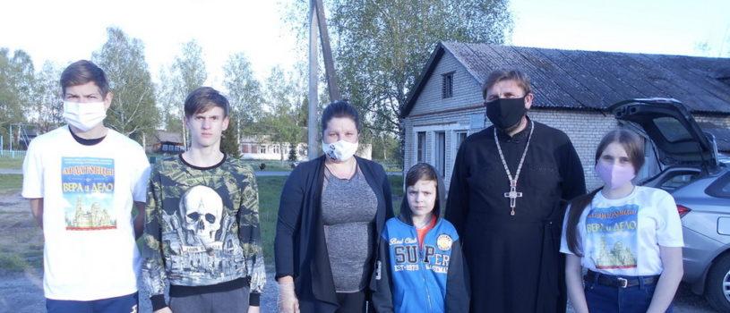 Волонтеры Ардатовской епархии «Ардатовцы» принимают участие в всероссийской волонтерской акции «Мы Вместе»