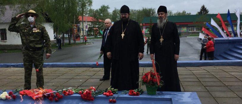 День Победы у Чамзинского мемориала ВОВ