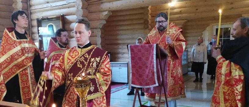 Всенощное бдение в храме Новомучеников и Исповедников Российских г.Ардатова