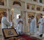 Неделя 7-я по Пасхе, святых отцов I Вселенского Собора (325) в Никольском кафедральном соборе г.Ардатова