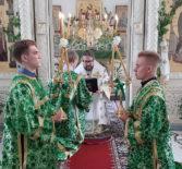 Праздник Святой Троицы (Пятидесятницы) в Никольском кафедральном соборе г.Ардатова