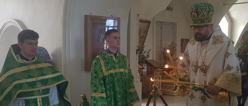 Отдание праздника Пятидесятницы в Никольском кафедральном соборе г.Ардатова