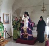 Всенощное бдение накануне Пятидесятницы в Никольском кафедральном соборе г.Ардатова