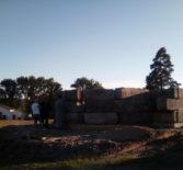 На строительской площадке будущего Иверского храма п.Октябрьский прошло рабочее совещание
