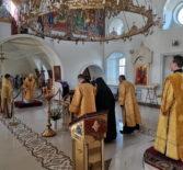 Неделя 2-я по Пятидесятницы, Всех Святых в земле Русской просиявших в Никольском кафедральном соборе г.Ардатова