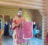 Всенощное бдение с чтением акафиста Царственным страстотерпцем в храме Новомучеников и Исповедников Российских г.Ардатова
