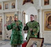 Всенощное бдение с чтением акафиста прп.Сергию Радонежскому в Никольском кафедральном соборе г.Ардатова