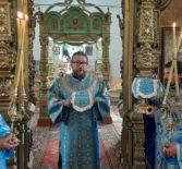 Архипастырь совершил праздничную Божественную литургию в Троицком приходе с.Андреевка Ардатовского района