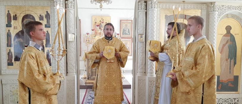 Неделя 7-я по Пятидесятнице в Никольском кафедральном соборе г.Ардатова