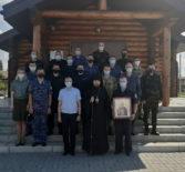 Архипастырь совершил Божественную литургию на Лукинском архиерейском подворье г.Саранска