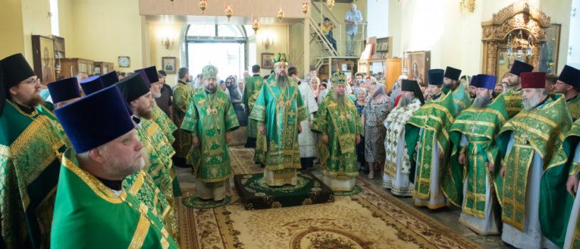 Память священноисповедника Иоанна Оленевского в селе Соловцовка Пензенской митрополии
