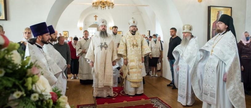 Архипастырский визит в в Спасо-Преображенский мужской монастырь Пензенской епархии