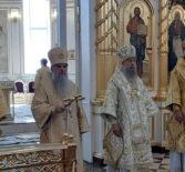 Престольное торжество в Кафедральном соборе святого праведного воина Феодора Ушакова г.Саранска