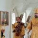 Всенощное бдение в Никольском кафедральном соборе накануне Недели 9-й по Пятидесятнице