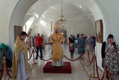 Неделя 9-я по Пятидесятнице в Никольском кафедральном соборе г.Ардатова