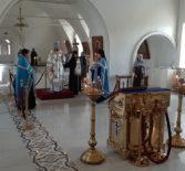 Всенощное бдение в Никольском кафедральном соборе накануне памяти иконы Божией Матери «Смоленская»