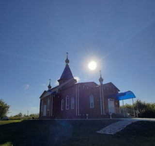Божественная литургия в Михайловском приходе с.Большие Манадыши Атяшевского района