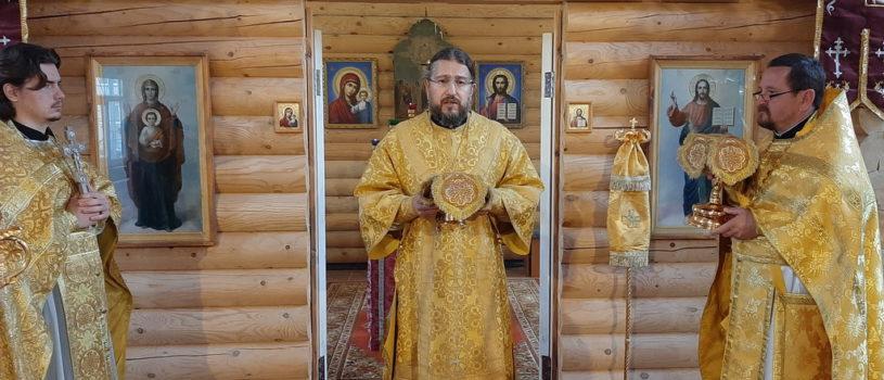 Субботняя Божественная литургия в храме Новомучеников и Исповедников Российских г.Ардатова