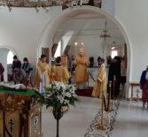 Неделя 10-я по Пятидесятнице в Никольском кафедральном соборе г.Ардатова