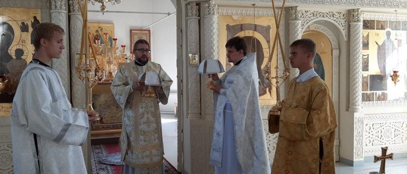 Попразднство Преображения Господня в Никольском кафедральном соборе г.Ардатова