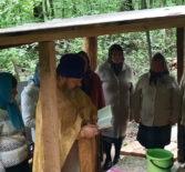 В день Пророка Илии на Казанского приходе с.Киржеманы освятили местночтимый родник