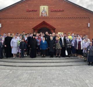 Воскресная литургия в Никольском кафедральном соборе г.Ардатова