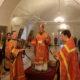 Всенощное бдение в Никольском кафедральном соборе накануне памяти священномученика Вениамина, митрополита Петроградского