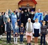Архипастырь совершил отдание праздника Успения Пресвятой Богородицы в Никольском храме с.Дубенки