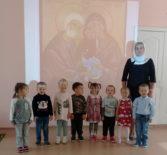 Рождество Пресвятой Богородицы торжественно встретили в Большеигнатовском детском саду