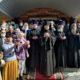 Архипастырь совершил Божественную литургию с чином Великого освящения храма в Никольском приходе с.Большое Маресево Чамзинского благочиния