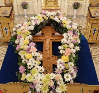 Всемирное Воздвижение Креста Господня в Никольском кафедральном соборе г.Ардатова