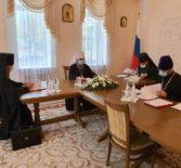 В Саранском епархиальном управлении состоялось заседание Архиерейского Совета Мордовской Митрополии
