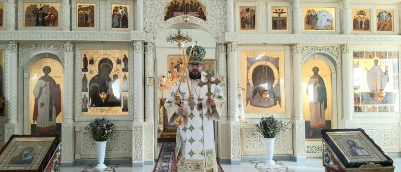 Преставление преподобного отца нашего Сергия, игумена Радонежского в Никольском кафедральном соборе г.Ардатова