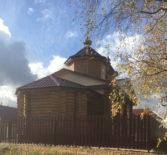 Завершён монтаж ограждения вокруг Никольского храма с.Морга Дубенского благочиния