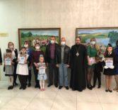 Архипастырь в Саранске принял участие в награждении победителей и призёров конкурса детского рисунка «Мир глазами детей»