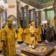 Архипастырь сослужил митрополиту Санкт-Петербургскому и Ладожскому Варсонофию в Казанском кафедральном соборе г.Санкт-Петербурга