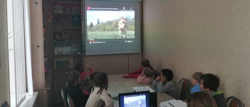 Занятия воскресной школы Андреевского прихода п.Атяшево