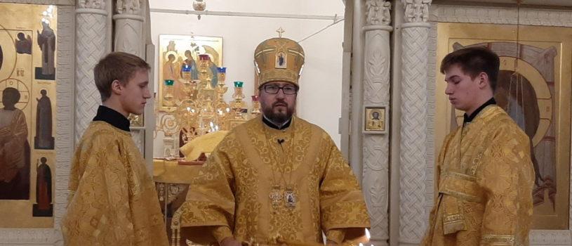 Неделя 21-я по Пятидесятнице в Никольском кафедральном соборе г.Ардатова